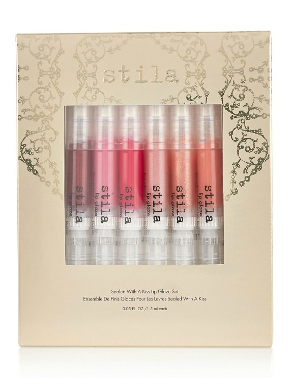 stila sealed with a kiss lip glaze set
