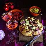 Focaccia With Red Onions And Figs