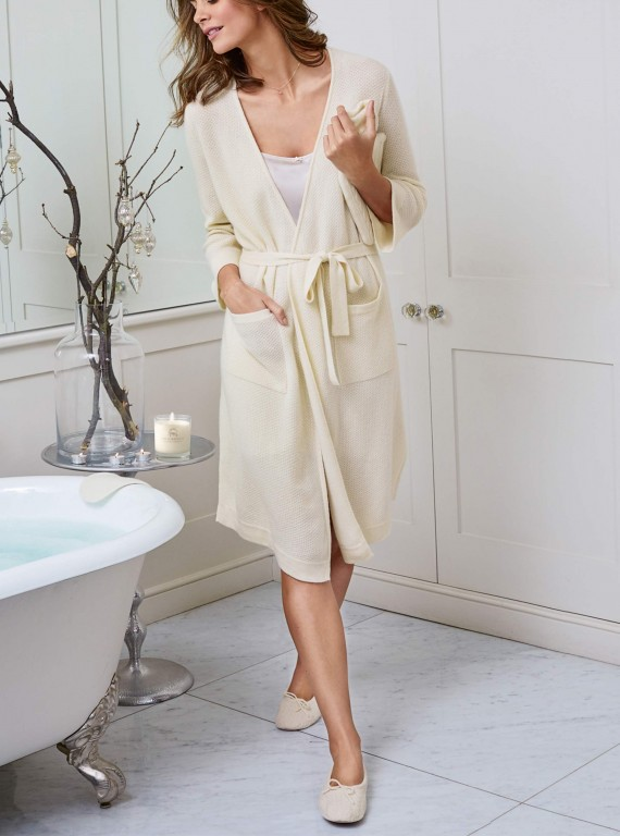 Cashmere robe marks and spencer