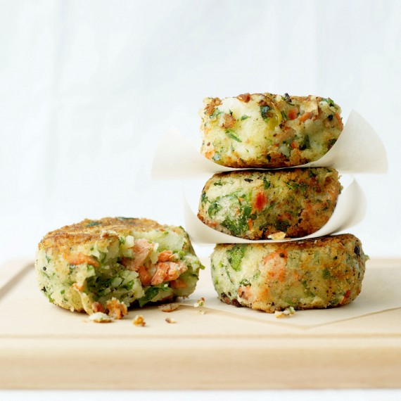 Easy Salmon And Parsley Fishcakes