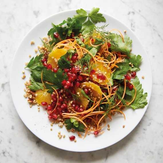 Deliciously Ella's Pomegranate, Parsley And Buckwheat Salad - Woman ...