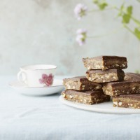 Deliciously Ella's Chocolate Caramel Slices