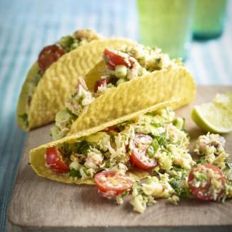 Crab And Avocado Tacos