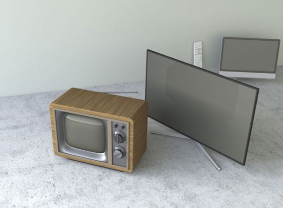 how to make screen clear when using tv as monitor