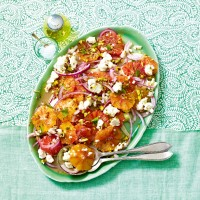 Blood Orange, Feta And Fennel Salad