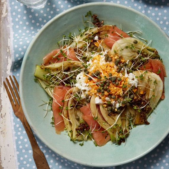 Fennel And Smoked Salmon Salad - Woman And Home