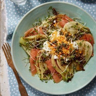 Fennel And Smoked Salmon Salad