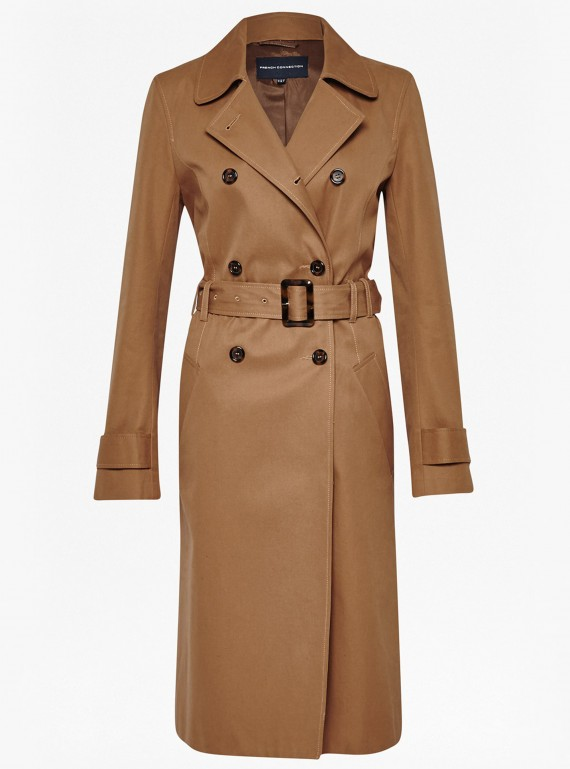 French Connection Canyon Twill Trench Coat, �180