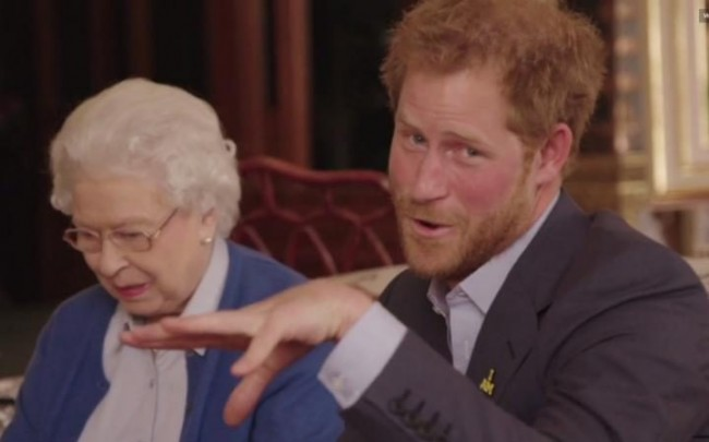 The Queen And Prince Harry's Hilarious 'Feud'