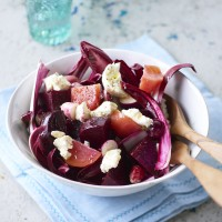 Home-Pickled Beetroot And Goats' Cheese Salad