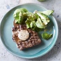 Steak With Porcini Butter