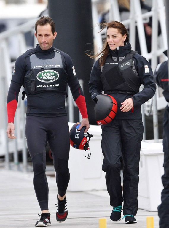 Ben Ainslie and Catherine
