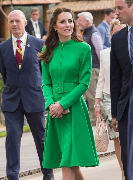 The Duchess goes green at RHS Chelsea Flower Show