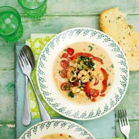 Moqueca Brazilian Coconut Prawn Stew