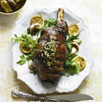 Stuffed Shoulder Of Lamb And Heritage Carrots with Tarragon