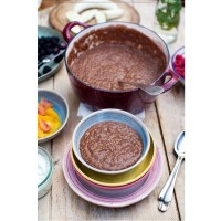 Chocolate Porridge, Greek Yoghurt and Fresh Seasonal Fruit