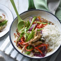 Joe Wicks' Sweet and Sour Pork with Rice