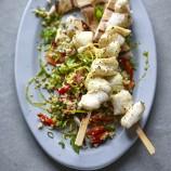 Joe Wicks' Monkfish Kebabs With Tabbouleh