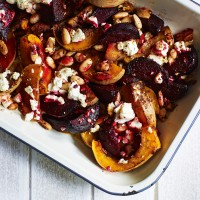 Roasted Squash with Middle Eastern Spices