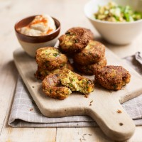 Falafel with Houmous and Grains