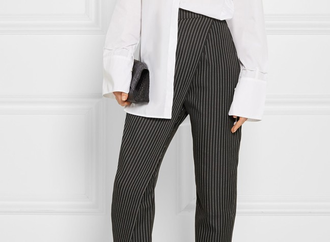 Pull Off Pinstripe In Or Out Of The Office...