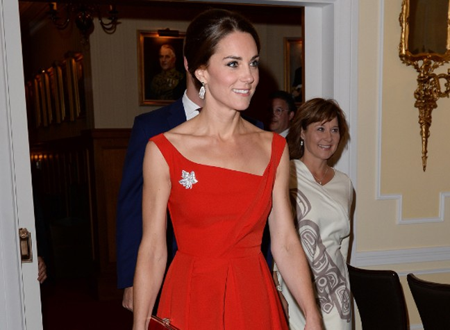 The Duchess' Touching Homage To Canada