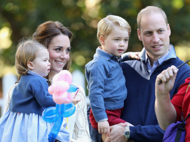 George And Charlotte's Garden Party