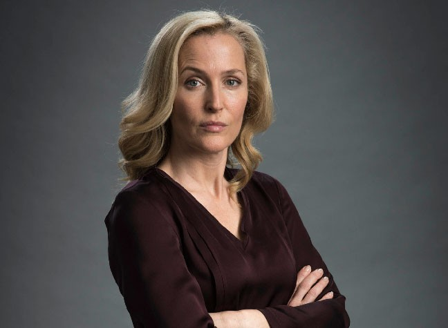 Silk Shirts Inspired By Gillian Anderson