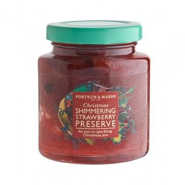 Fortnum & Mason's Christmas Shimmering Strawberry Preserve