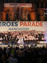 Olympic Champions Get A Heroes Welcome At Manchester Homecoming Parade