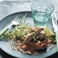 Lean In 15 Bashed Pork With Red Pepper Mayo