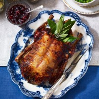 Roast Duck with Marmalade Glaze