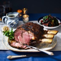 Roast Beef with Mustard and Horseradish Crust