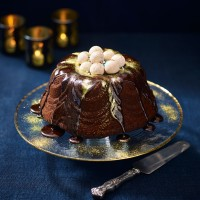 Chocolate Christmas Bundt Cake