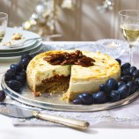Stilton Savoury Cheesecake with Quince