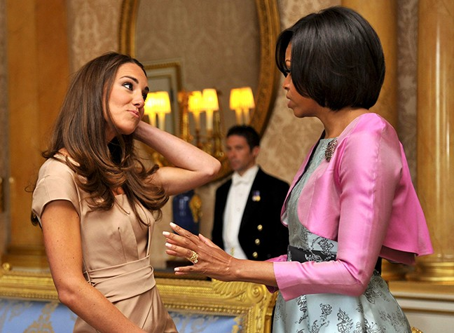 Kate And Michelle Swap Beauty Secrets