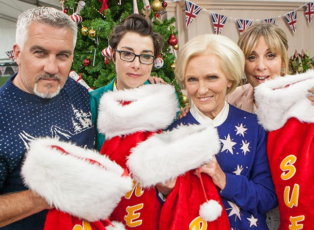 Bake Off Christmas Special Line-Up Revealed...