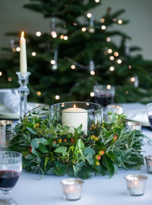 Christmas Table Decorations And Centrepieces