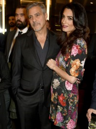 George Clooney's Mother Reveals Sex Of Amal's Twins