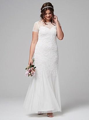 Stunning Plus Size Wedding Dresses Under £500