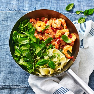 Prawn Pasta With A Punchy Sauce