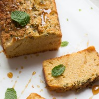 FODMAP Lemon and Mint Loaf