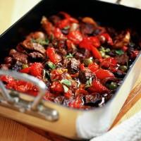 Mediterranean Beef Casserole