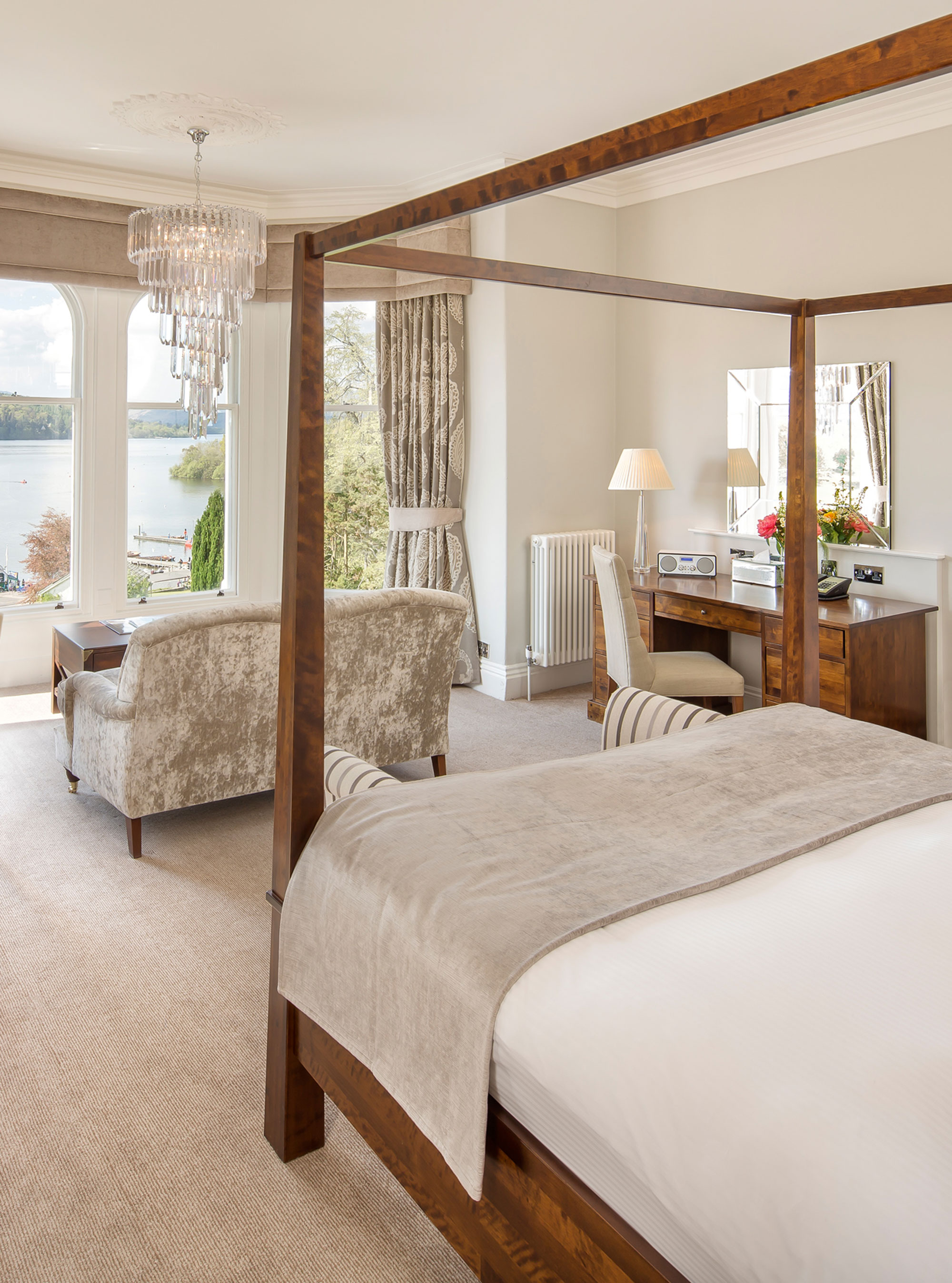 Laura Ashley Bedroom Furniture The Lake District Laura Ashleys The Belsfield Hotel Woman And Home