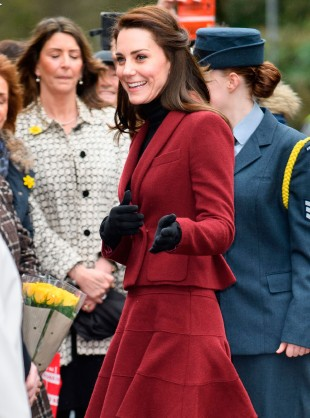 Catherine Takes On New Royal Responsibility From The Queen