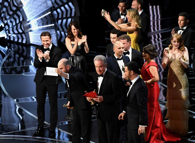 The Shocking Mistake That Happened At The Oscars