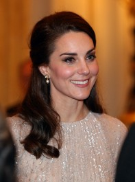 The Duchess' Shimmery New Style Departure
