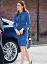 The Duchess Shares Adorable Moment With Child, Reminds Us We Love Skirt Suits