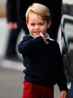 The Adorable Way Prince George Spent Pancake Day
