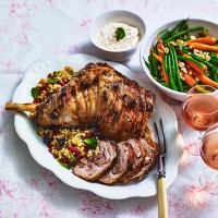 Stuffed Lamb with Fruity Couscous
